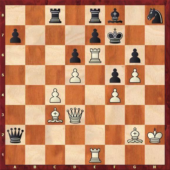 Hvilken brik skal slå på c4?