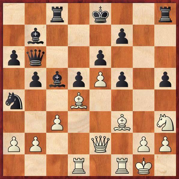 Har hvid tid til at spille 22. Lxh5?