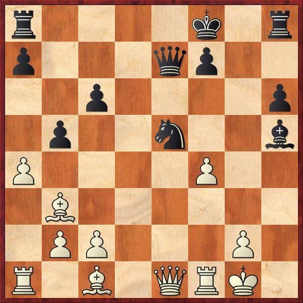 Kan sort spille 19...Sf3?