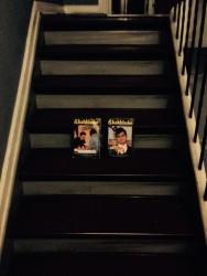 Skakbladet på trapperne :-)